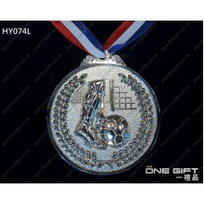 HY074L 65mm直徑足球獎牌