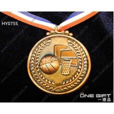 HY075S 50mm直徑籃球獎牌