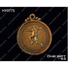 HY077S 50mm直徑手球獎牌