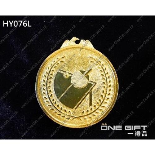 HY078L 65mm直徑乒乓球獎牌