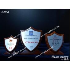 OGWS1 座檯尖頭木盾