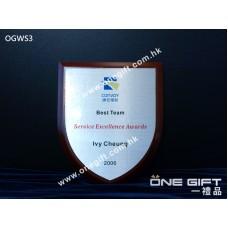 OGWS3 座檯平頭木盾