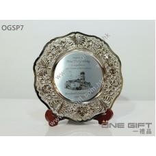 OGSP7 8吋厚樹邊銀碟